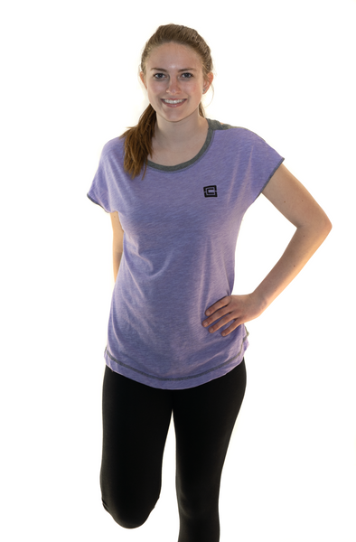 Women's Sensation Tee Lavendar