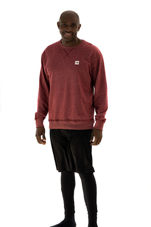 Men's French Terry Sweat Cardinal