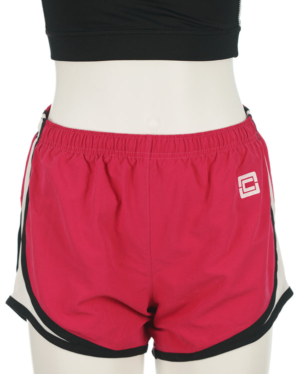 "Women's Accelerate Shorts 4"" Pink"