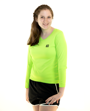 Women's LS Tee Lime