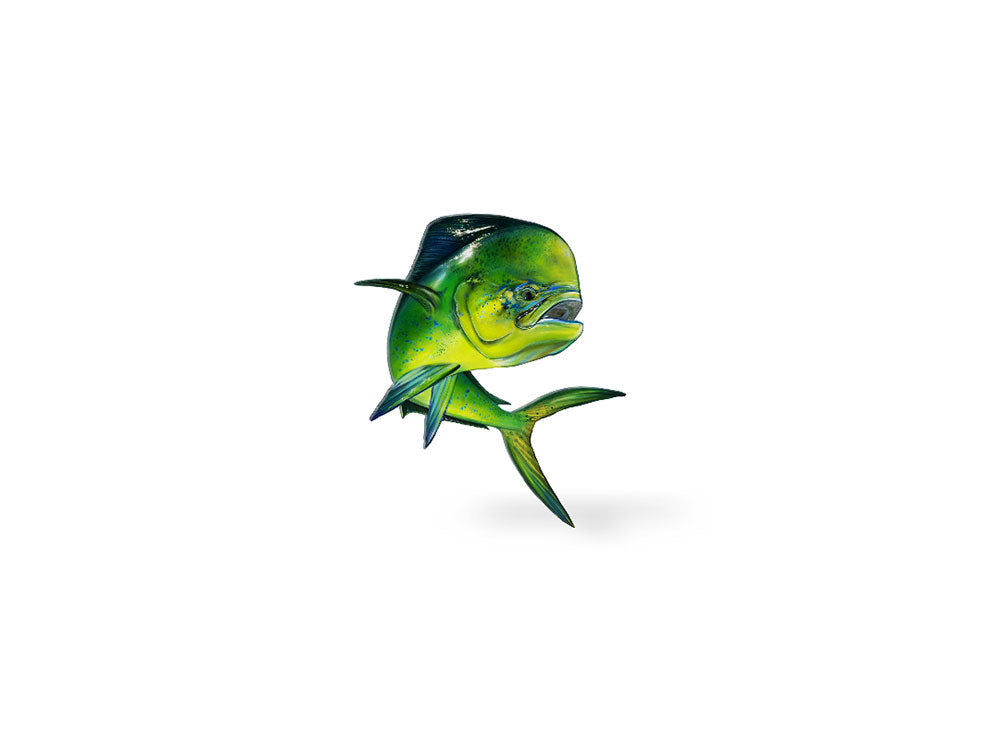 Jumping Mahi Decal