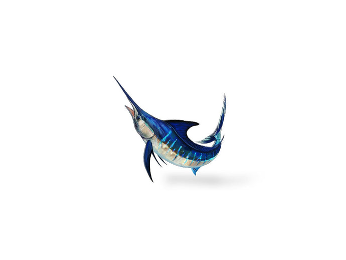 Jumping Marlin Decal