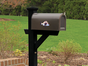 Black Margate Mailbox Decal