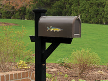 Chain Pickerel Mailbox Decal