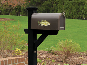 Largemouth Bass Mailbox Decal