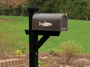 Rainbow Trout Mailbox Decal