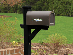 Spanish Mackerel Mailbox Decal
