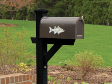 White Bass Mailbox Decal