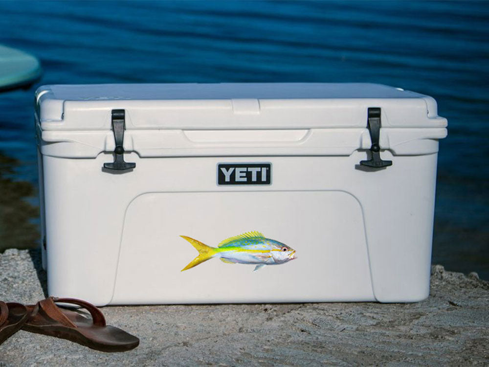 YELLOWTAIL SNAPPER decal | Boat, truck, fish sticker
