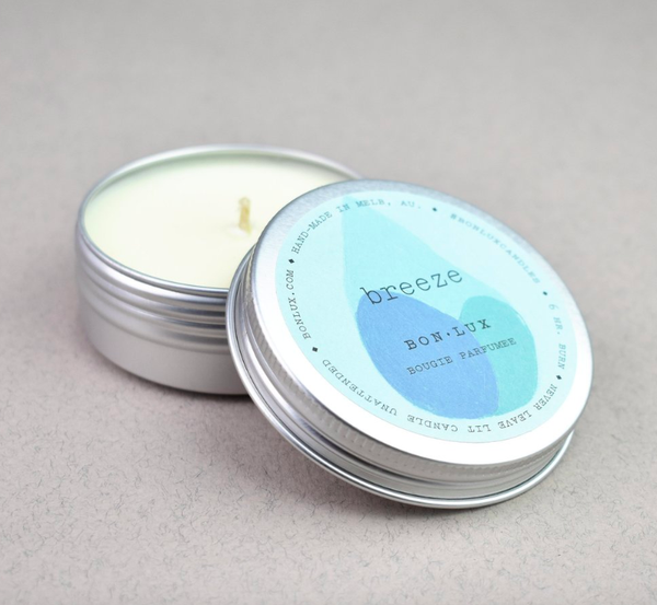 Bon Lux - Travel Tin Candle - Breeze