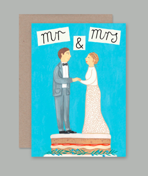 AHD Greetings Cards - Mr and Mrs