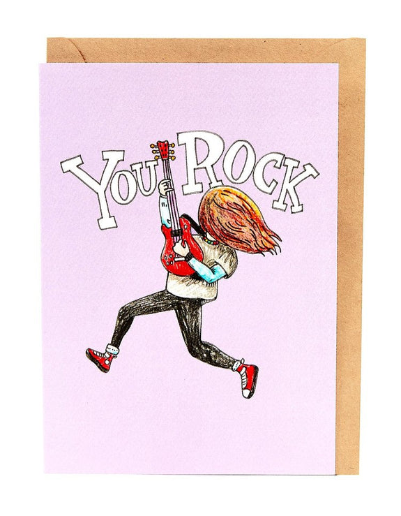 Wally Paper Co Cards - You Rock