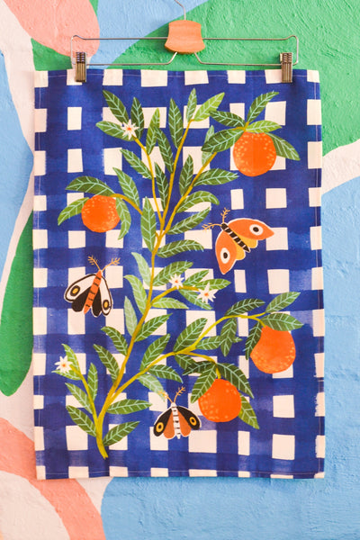 Togetherness Design teatowel - Orange you glad