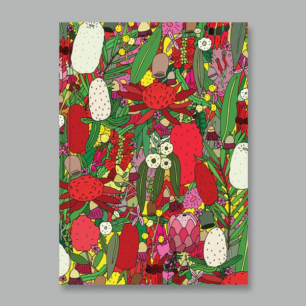 AHD Notebook - Aussie Flowers
