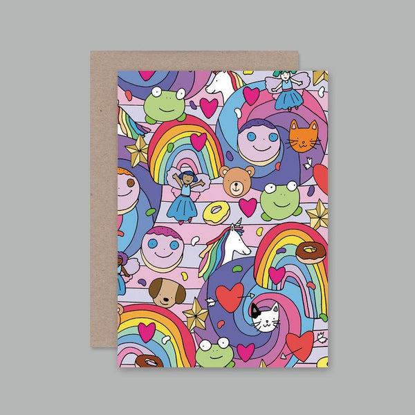 AHD greetings cards - Sweetie