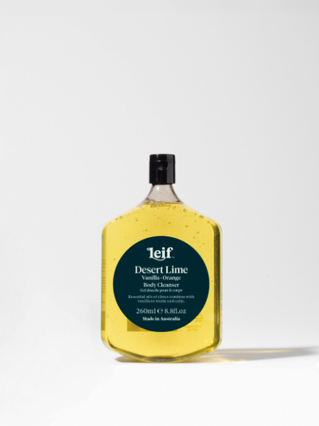 Leif - Desert Lime Body Cleanser with Vanilla and Orange - 260ml