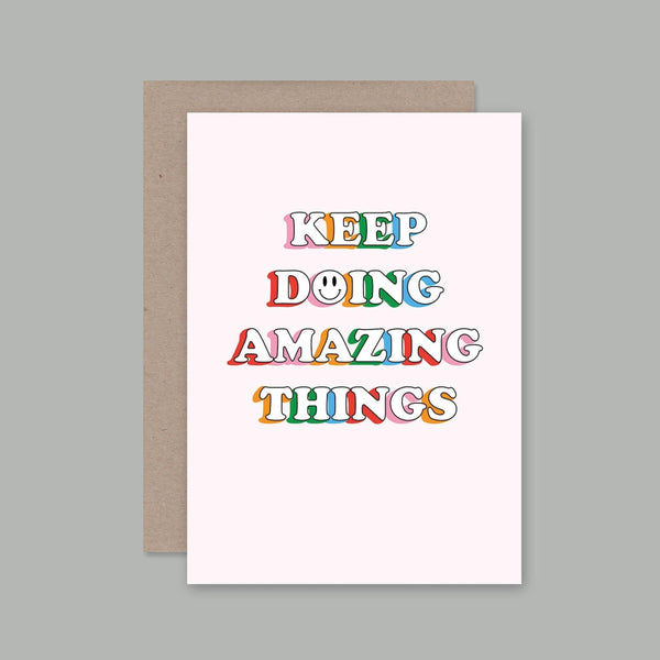 AHD greetings cards - Amazing Things
