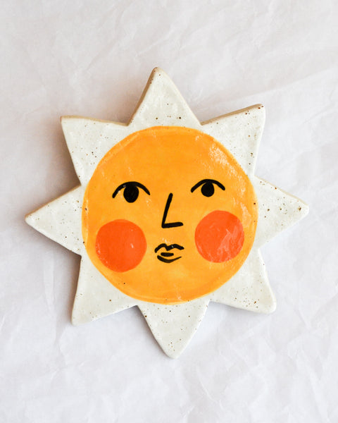 Togetherness Design - Ceramic Wall Hanging - Summer Sun