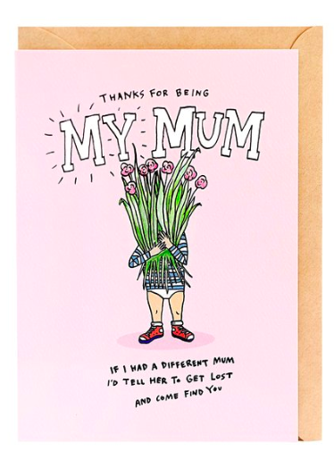 Wally Paper Co Cards - No Other Mum