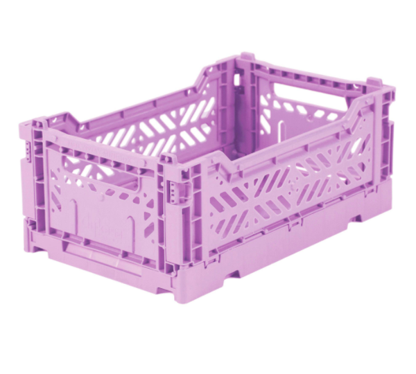 Ay-Kasa - Foldable Crates Mini - Lilac