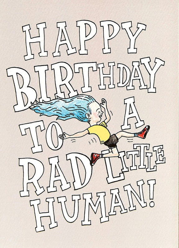 Wally Paper Co Cards - Rad Human