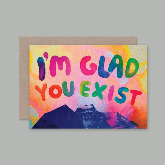 AHD greetings cards - I'm glad you exist