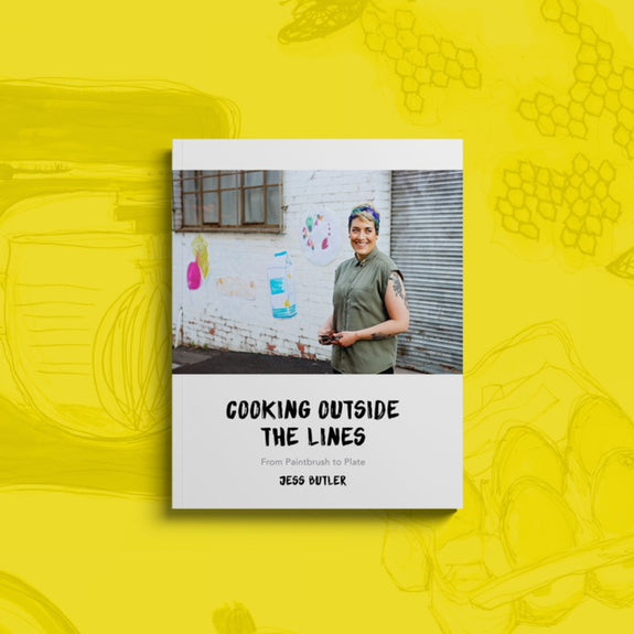 Cooking outside the lines - Jess Butler