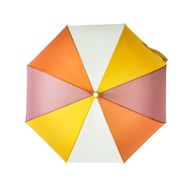Grech and Co Sustainable Umbrella - Burlwood, Stone and Rust
