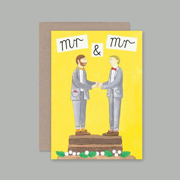 AHD greetings cards - Mr and Mr