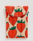 Baggu - Puffy Laptop Sleeve 16 inch - Strawberry
