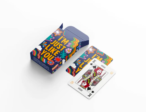 Lighthouse Fondation Playing Cards - I'm Just Like You