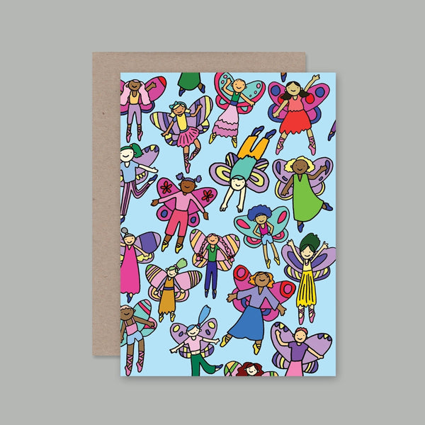 AHD greetings cards - Fairies