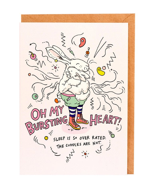 Wally Paper Co Cards - Heart Burst