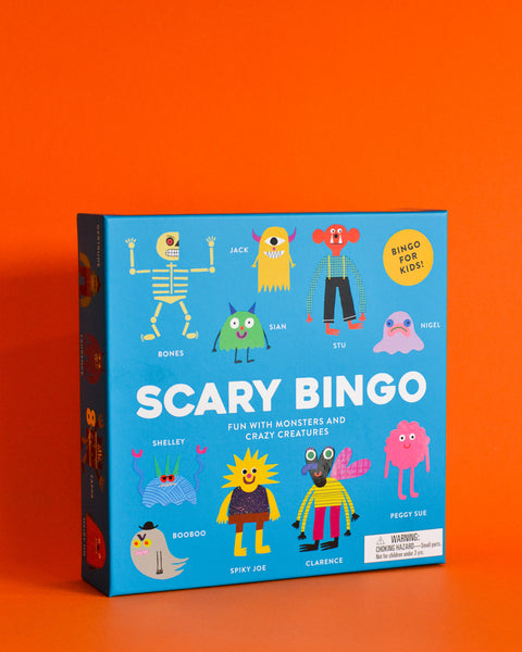 Scary Bingo: Fun with Monsters and Crazy Creatures by Rob Hodgson