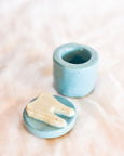 Julie B - Ceramic Tooth Fairy Box - Blue