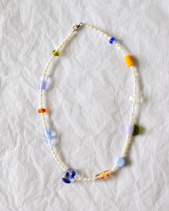 Kate Dansey Glass and Pearl Necklace 5