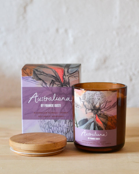 Frankie Gusti - Australiana Candles - Australian Florals + Honey