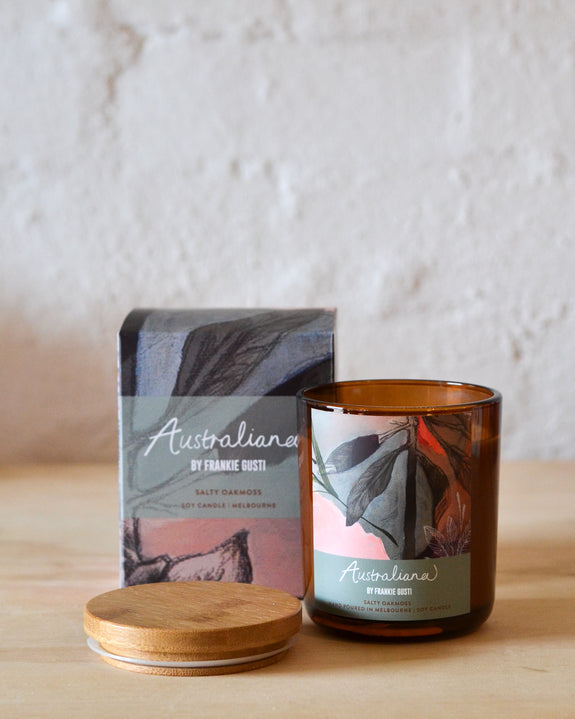 Frankie Gusti - Australiana Candles - Salty Oakmoss