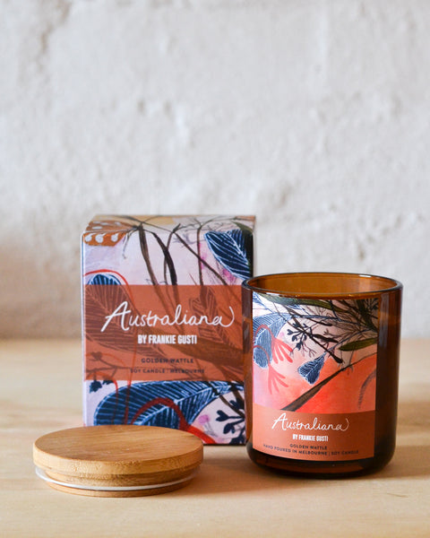 Frankie Gusti - Australiana Candles - Golden Wattle