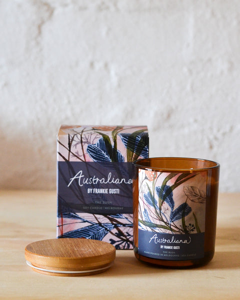 Frankie Gusti - Australiana Candles - The Bush