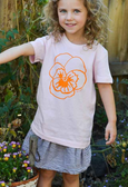 Emily Green - Kids Pansy T-shirt