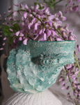 Iggy and Lou Lou - The Salty Sea Air - Conch Shell Vase - Ocean Jade