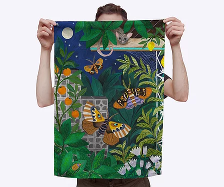 Togetherness Design teatowel - Animalia