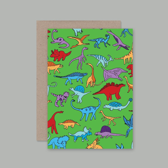 AHD greetings cards - Dino dino