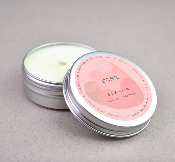 Bon Lux - Travel Tin Candle - Rosa