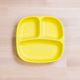 Re-Play - Divided Plate - Yellow