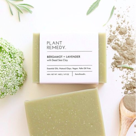 Plant remedy - Soap - Bergamont and Lavender with Dead Sea Clay