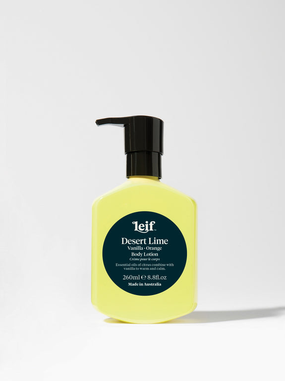 Leif - Desert Lime Body Lotion with Vanilla and Orange 260ml