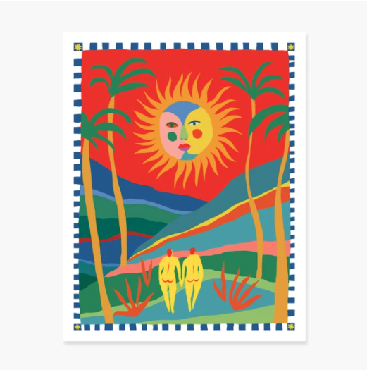 Slowdown Studio Art Print - The Sun Will Make You Smile
