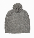 Acorn Campside Woolen Beanie in Grey